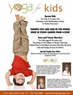 Yoga for Kids Web