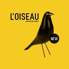 L'oiseau, élément indispensable pour un intérieur design http://www.meublesetdesign.com/fr/charles-eames/decoration-eames/oiseau-eames