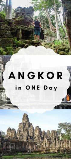 The Best of Angkor in 1 Day***** Cambodia   Angkor Wat   Angkor Wat Sunrise   Temples   Angor Wat Temples   Siem Reap   Angkor   Cambodia Temples   Bayon Temple   Ta Phrom