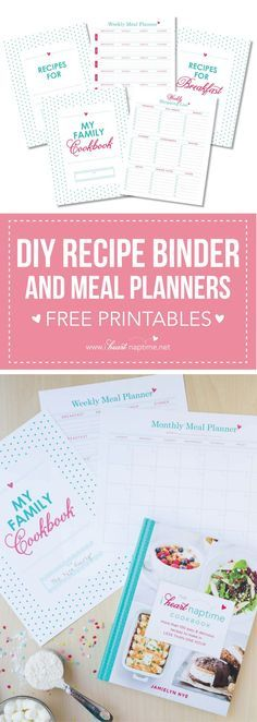 Recipe binder kit diy printable project by project goble diy recipe binder free with the i heart naptime cookbook enjoy this helpful printable solutioingenieria Choice Image