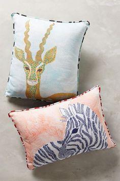 Biota Pillow - anthropologie.com