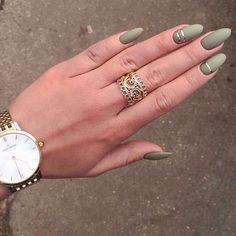 Ногти Get Nails, Hair And Nails, Oval Shaped Nails, Nail Time, Almond Nails, Nail Trends, Nail Inspo, Shellac, Nail Arts