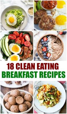 18 Clean Eating Breakfast Recipes