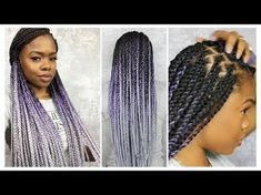 How to Box Braid Like A Pro | Protective Style | MariaAntoinetteTV - YouTube