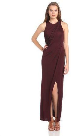 Jill Stuart Jill Women's Draped Sleeveless Evening Dress on shopstyle.com