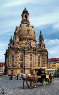 Dresden, Germany. The man that rides with me in a horse drawn carriage down the streets of anywhere in Germany will be my husband.
