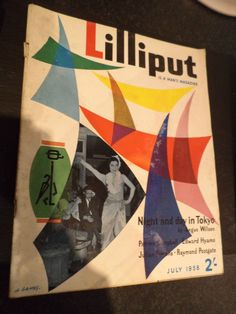 OLD VINTAGE 1950S MENS COMEDY POLITICS NEWS LILLIPUT MAGAZINE july 1958 in Books, Comics & Magazines, Magazines, News & Current Affairs | eBay