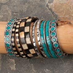 Gypsy Soule Turquoise & Black Bangles!!!!!!!!!!!!! Need!!!!!!!!!!!!!!