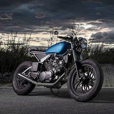Yamaha XV750 ER Custom Motorcycle | #Motorcycles