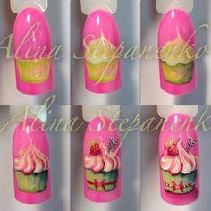 Фотографии Фото ногти Дизайн Реалистичные цвета гель лака