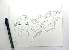 Draw Fall Leaves and make a cute Autumn Illustration Fall Leaves Drawing, Leaf Drawing, Fall Drawings, Cute Drawings, Earth Drawings, Autumn Art, Autumn Leaves, Fall Leaves Coloring Pages, Autumn Illustration