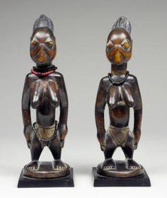 Yoruba Ere Ibeji (Twin Figure), Igbomina - Ijomu, Nigeria http://www.imodara.com/post/102731560684/nigeria-yoruba-ere-ibeji-twin-figure-igbomina