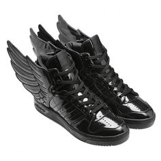 ADIDAS ORIGINALS BY JEREMY SCOTT JS WINGS 2.0 BLACK/RUNING WHITE #sneaker