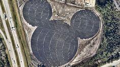 Desney построила солнечную электростанцию в форме Микки Мауса