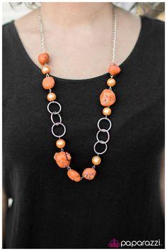 Pebble Pinnacle - Orange