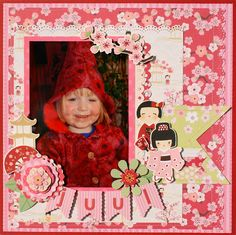 "Layout using ""Cherry Delight"" by Monique Liedtke"
