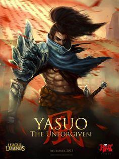 Yasuo fan art   League of Legends