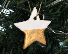 Handmade Star Decoration / Gold