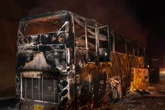 Bus Fire in Thailand Kills 20 Migrant Workers From Myanmar