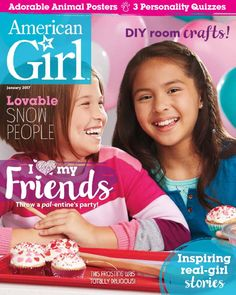 One Year Subscription to American Girl Magazine Only $13.95 - $2.33 Per Issue - http://www.swaggrabber.com/?p=318185