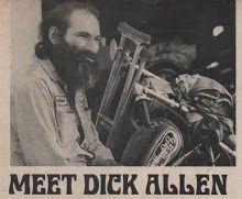 he wasn't trying to be a biker... he was it.