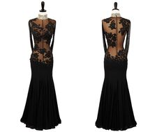 Wicked | Smooth & Standard Dresses | Encore Ballroom Couture