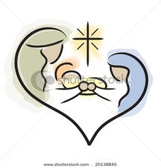 holy family -- LOVE this design!