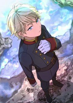 You'll love this illustration by hashima if Slaine is your favorite Aldnoah. Anime Manga, Anime Guys, Anime Art, Manga Art, Persona 5, Aldnoah Zero Slaine, Barakamon, Tokyo Otaku Mode, Fanart