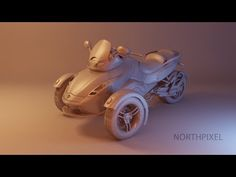 Mental Ray Clay Rendering - YouTube