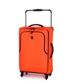 IT Luggage World's Lightest Medium 4 Wheel Suitcase - Red.