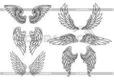 нарисованные крылья - Поиск в Google