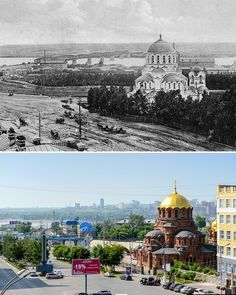 Novosibirsk Then And Now Then And Now, Taj Mahal, Russia, Louvre, Building, Travel, Viajes, Buildings, Destinations