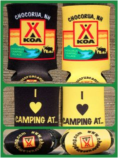 Don't forget to get your Coolies when you stop in our camp store!