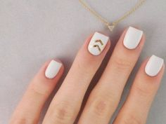 Nail Art Designs Ideas That You Will Love Nails Nail Designs Nail Art Ideas Nail art designs cool nail design acrylic nails Get Nails, Love Nails, Hair And Nails, Perfect Nails, Gorgeous Nails, Pretty Nails, White Nail Art, White Nails, White Summer Nails