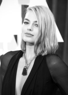 Pin for Later: Stunning Oscars Pictures You Haven't Seen Yet Margot Robbie