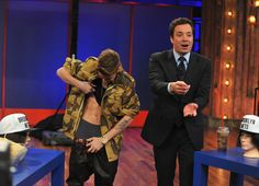 Photos: Justin Bieber shows off his 'abs' to Jimmy Fallon Jimmy Fallon, Justin Bieber Latest, Selena Gomez, Future Concert, Party Stations, Adam Sandler, Tonight Show, Fast Weight Loss, Lose Weight