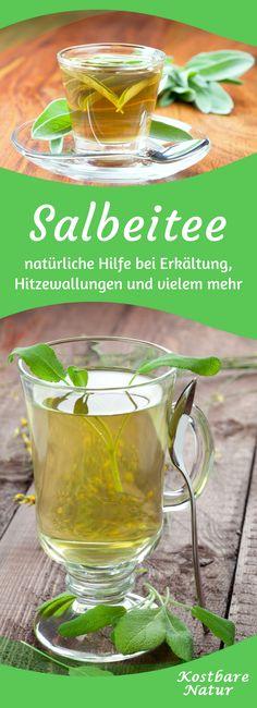 Salbei ist mehr als ein Gewürz und kann auf sanfte aber wirkungsvolle Weise bei zahlreichen Beschwerden helfen. Probiere doch mal einen heilenden Tee mit Salbeiblättern!