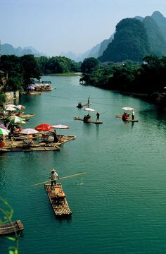 'Li River, Yangshuo, China' by epidemiks. Creative Commons Attribution licence