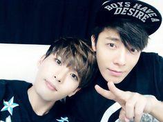 Donghae y Ryeowook