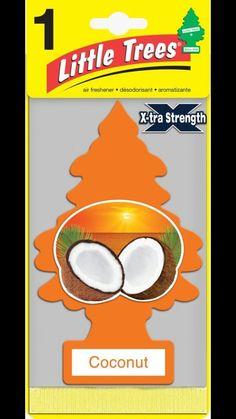 Little Trees Car Hanging Air Freshener Extra Strength Black Ice Coconut Hawaii  | eBay