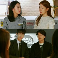 Goblin :The Lonely and Great God Episode 9Goblin (Kim Shin),Ji Eun Tak,Grim Reaper and Sunny (Kim Sun)