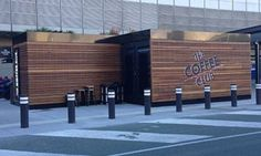 Image result for shipping container coffee stand