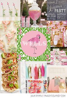 Pink Flamingo Party - Julia Ryan | PAWLEYS ISLAND POSH