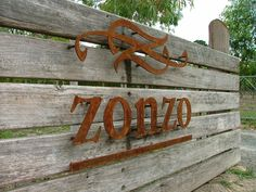 metal signage - Google Search