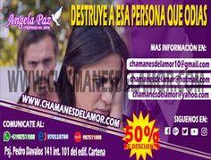 DESTRUYE A ESA PERSONA QUE ODIAS ANGELA PAZ (Lima)