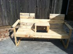 My latest recycled pallet project