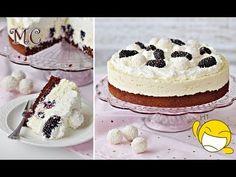 Łatwe Ciasto Kokosowa Pokusa z Jeżynami lub Malinami – Przepis – Mała Cukierenka - YouTube Vanilla Cake, Cheesecake, Gluten, Youtube, Food, Kuchen, Cheesecakes, Essen, Meals