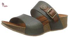 Dr. Brinkmann  700923, Mules femme - Vert - Grün (khaki), 37 - Chaussures dr brinkmann (*Partner-Link)