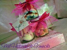 Botes chuches / gominolas / bautizos / bodas / comuniones