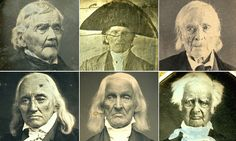 Faces of the men who won America's independence: Amazing early photos of heroes of the Revolutionary War in their old age